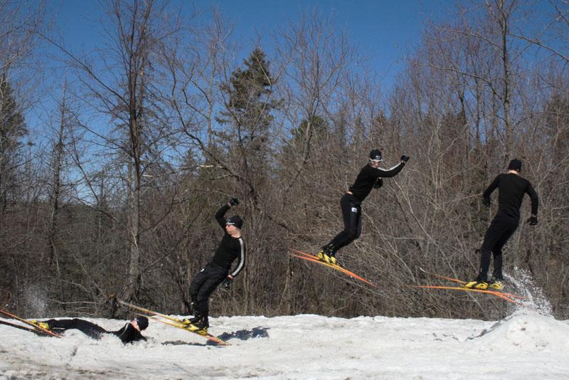 360 on xc skis