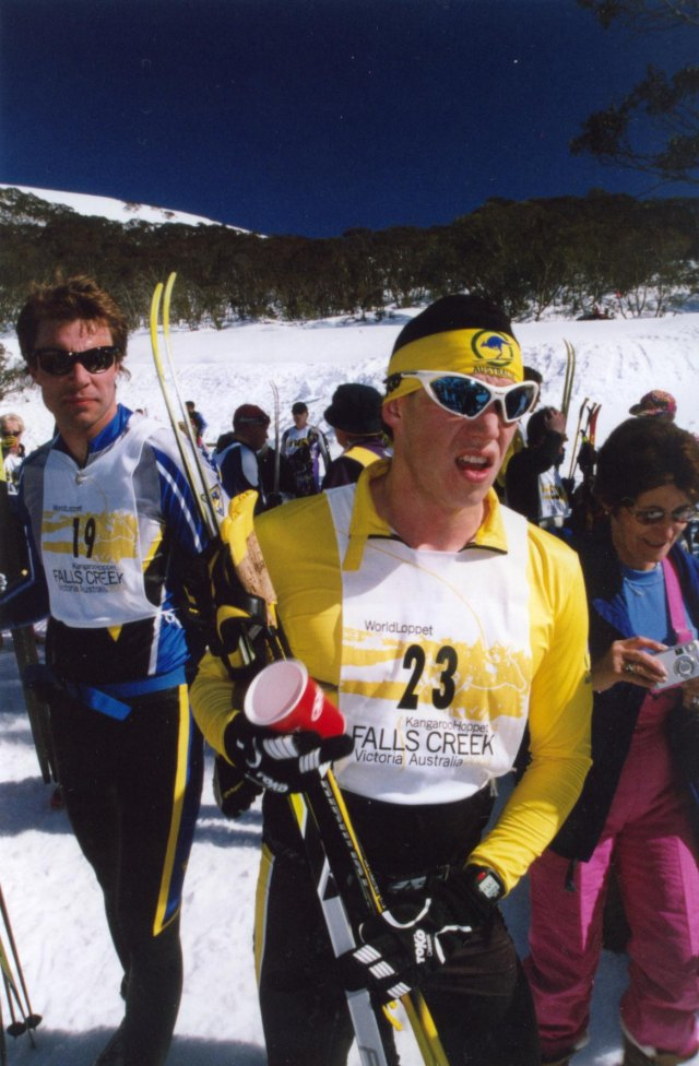 Andrew Wynd, AUS - After the 2004 Hoppet Loppet