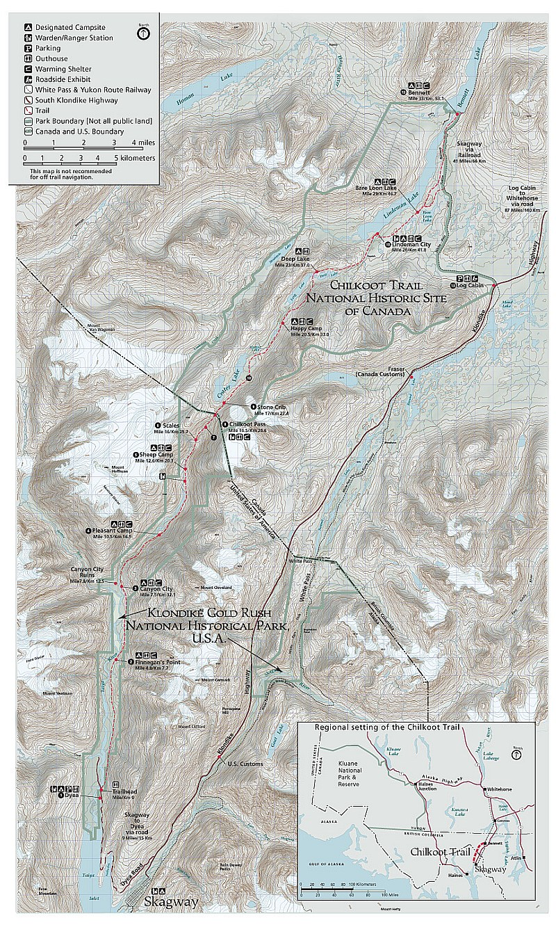 Chilkoot Trail Elevation Map.The Chilkoot Trail In One Day A Yukon Epic Ski Xcottawa Ca
