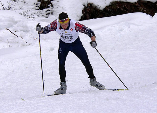 Andrew Wynd racing the 2006 Eastern Canadian Championships at Nakkertok