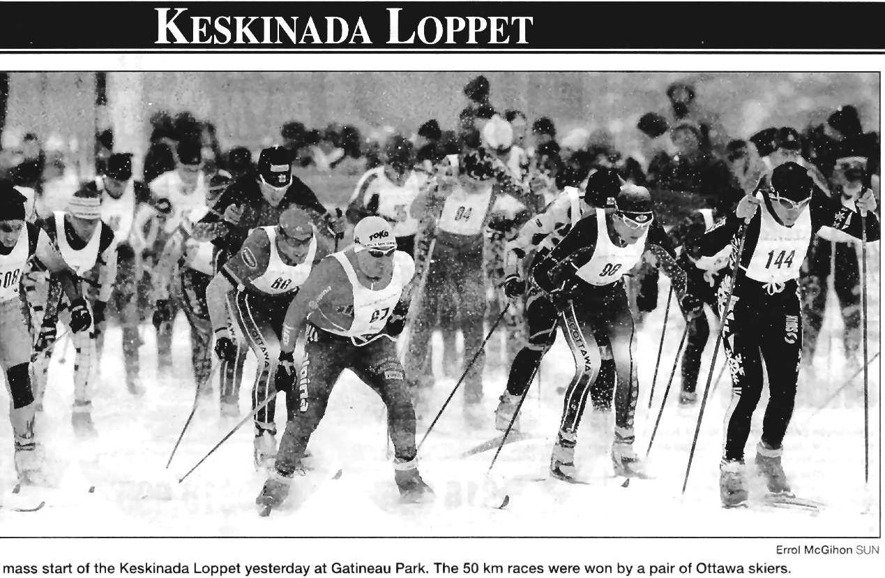 XCOttawa ca Scrapbook of Press Clippings  :: Ski XCOttawa ca
