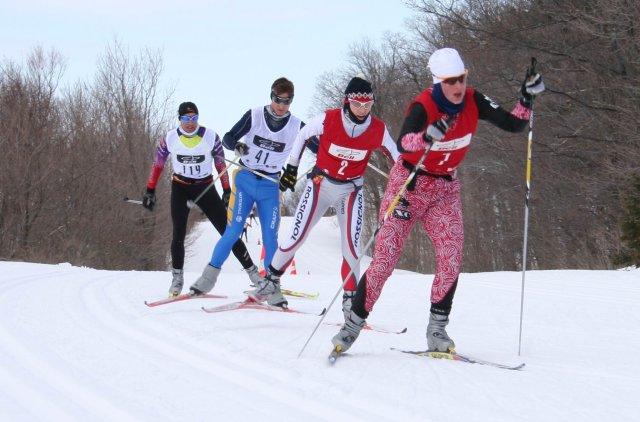 Keskinada Loppet Parkway XC Ski Racing