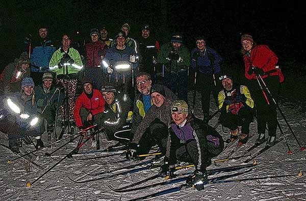 Nakkertok Masters skiing in Ottawa