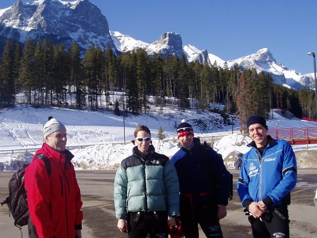 The XCOttawa team in Canmore
