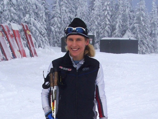 sheila kealey skiing at silverstar