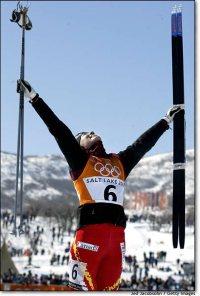Beckie Scott wins Gold!