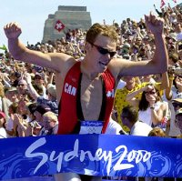 Simon Whitfield wins Gold!
