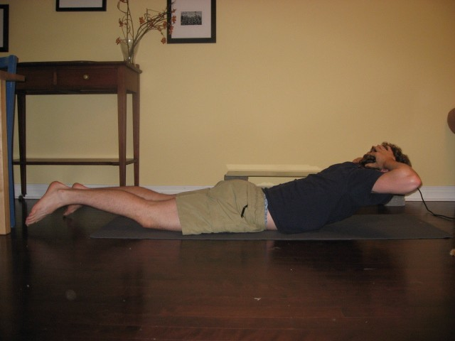 Core Strength Exercise Superman