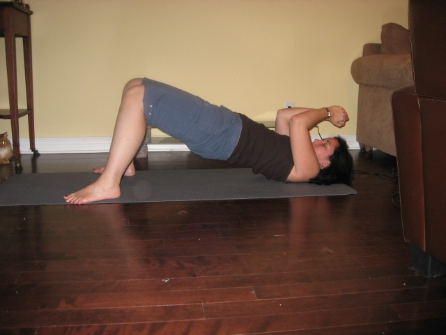 Core Strength Exercise Reverse Plank