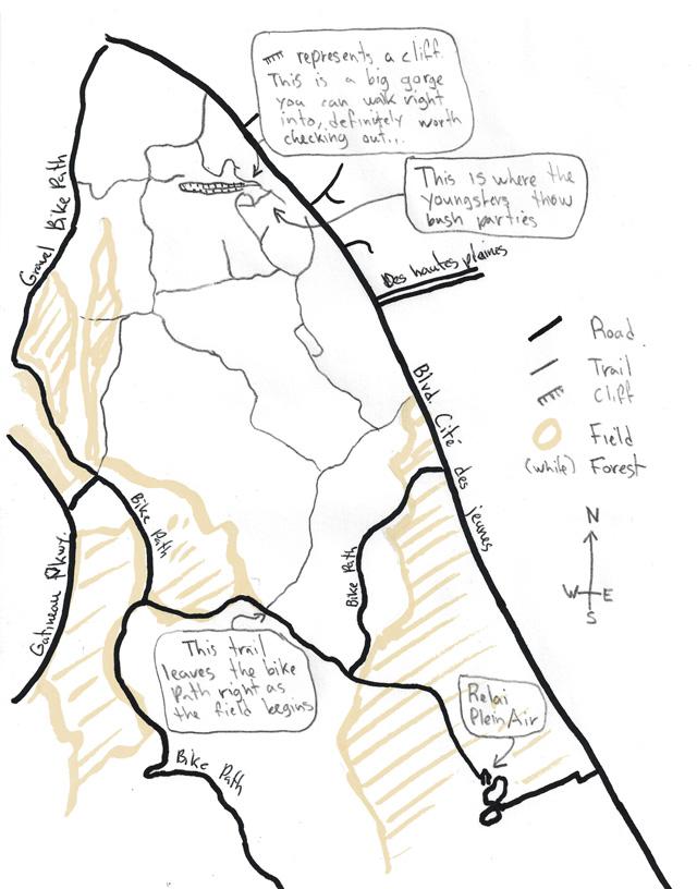 Cite des Jeunes Trail Map